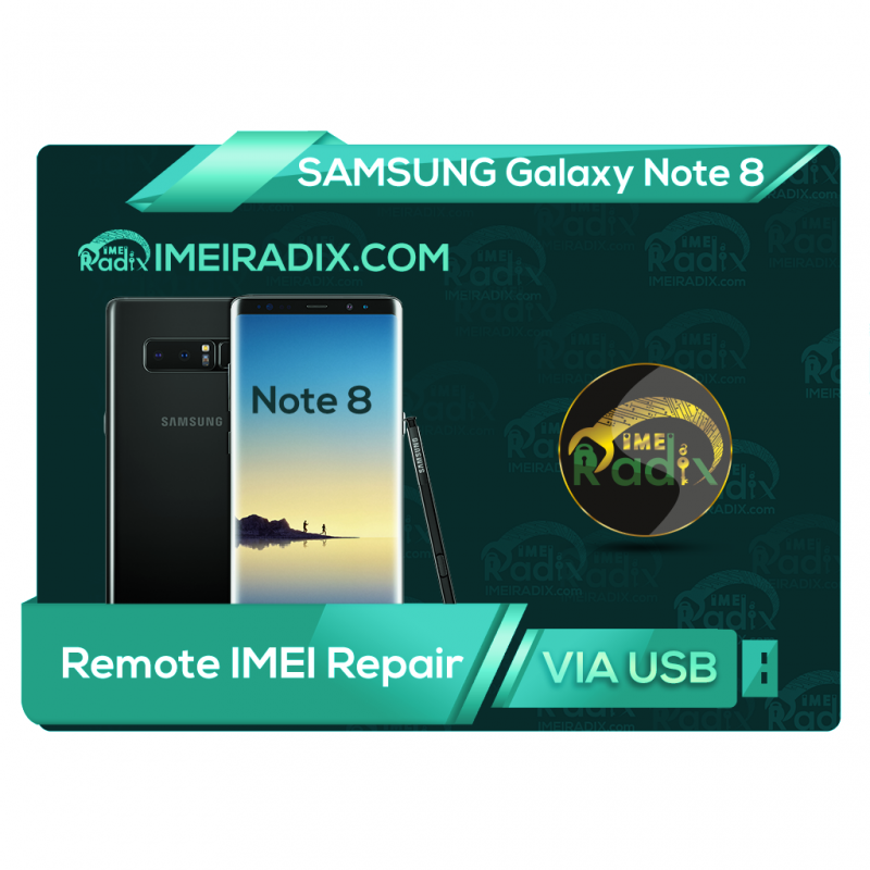 NOTE 8 N950 Remote IMEI Repair
