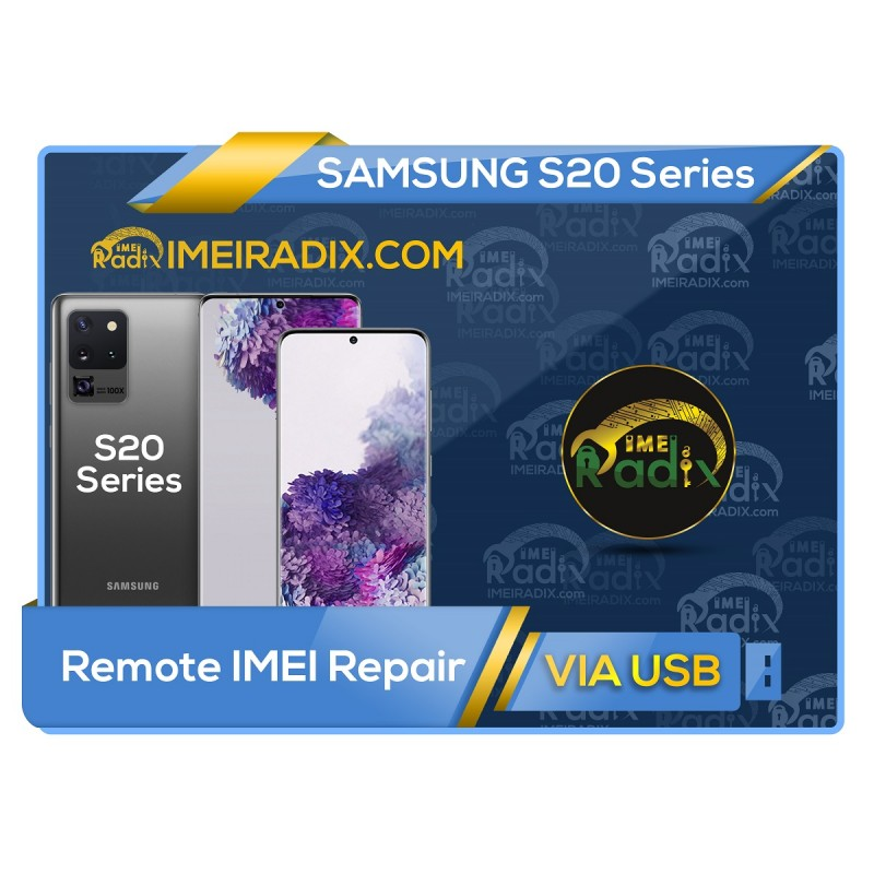 S20 - S20 PLUS - S20 Ultra  Remote IMEI Repair