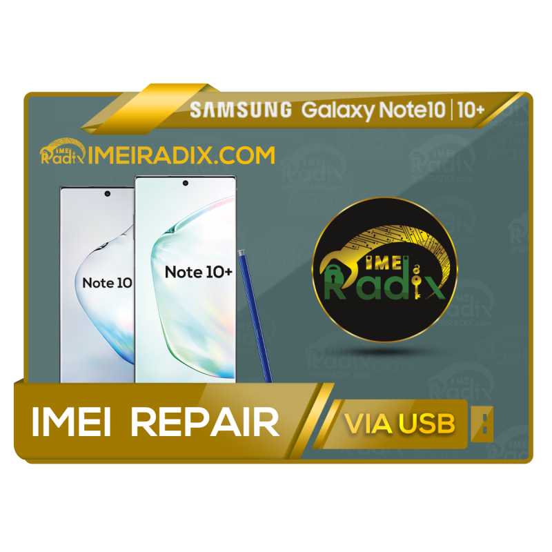 NOTE 10 - NOTE 10 PLUS Remote IMEI Repair
