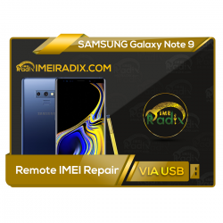 NOTE 9  Remote IMEI Repair
