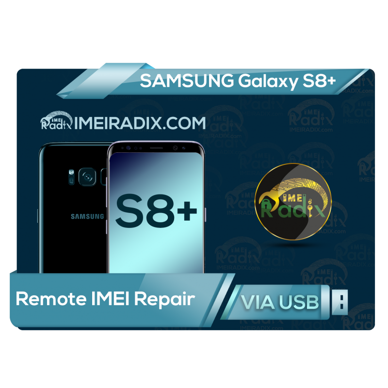 S8 PLUS Remote IMEI Repair