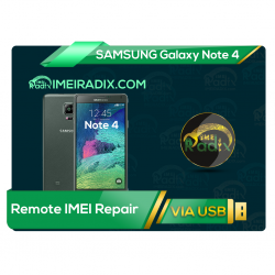 NOTE 4 N910 Remote IMEI Repair